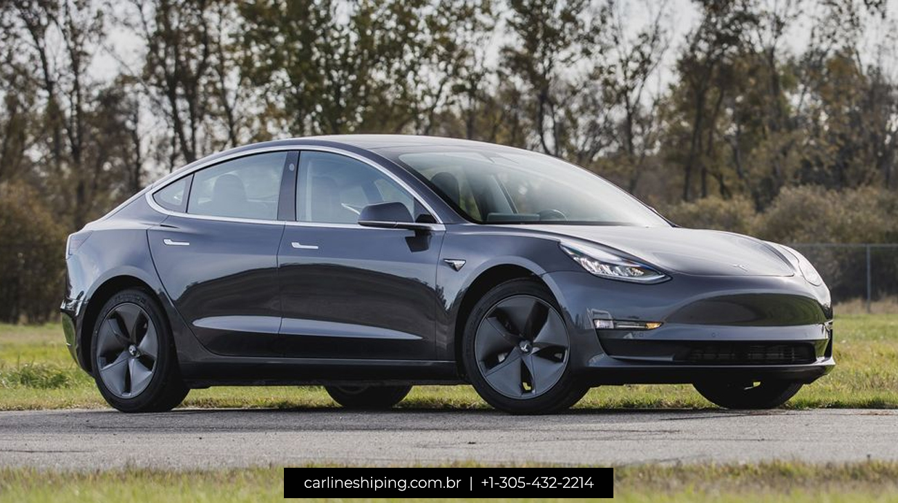 New 2020 Tesla Model 3 - Car Exporter From Miami To The World